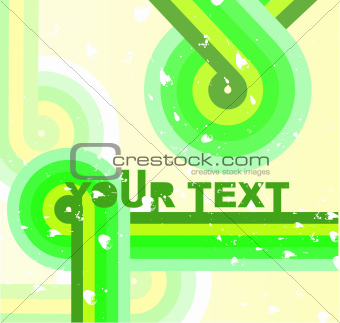 Abstract retro vinil cover background