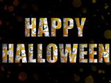 Halloween Letters with Ghosts