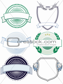 six sign and crests