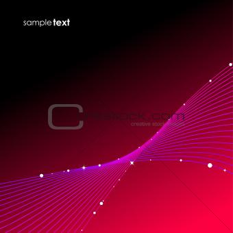 Blend wave background