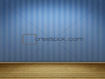 blue floor