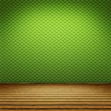 green floor