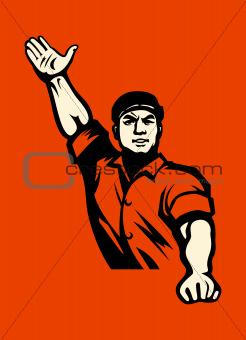 Communist worker
