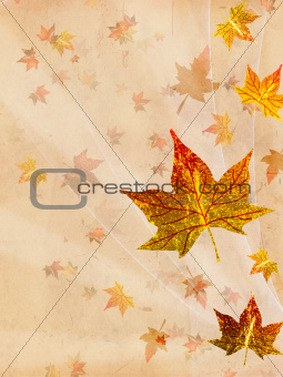 retro beige autumn background