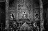 "Black and White ""Phra Sihing Buddha"""