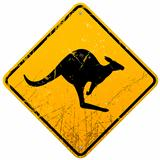Kangaroo Vintage Sign