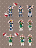 boy/girl scout stickers