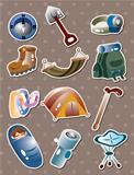 climbing tool stickers