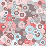 seamless pattern  in a retro style