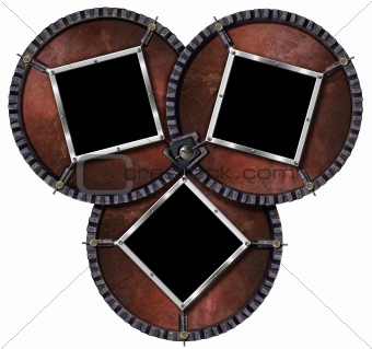 Three Metal Frames