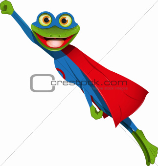 frog superman