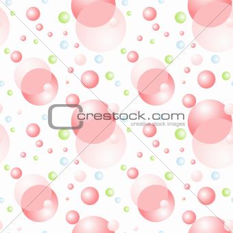 Soap Balls Background
