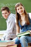 Teen students