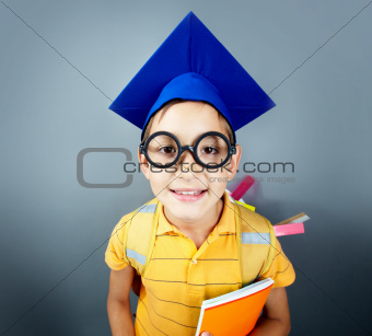 Small student