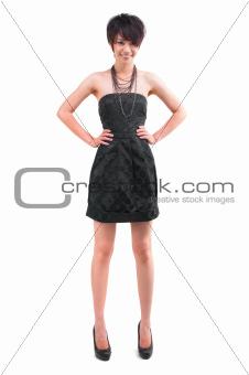 Asian stylist girl