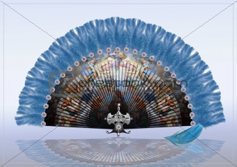Decorative folding Fan