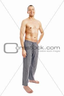 man pajamas
