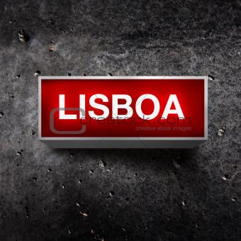 Lisboa Vintage light display