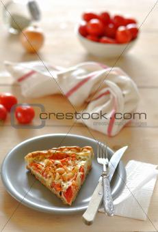 Tomato and Peanut Pie