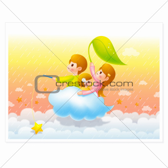 Families to travel on the clouds, Family Character