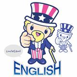 America symbol of Uncle Sam character
