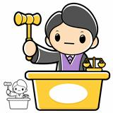 Trial judge character. A law school Character