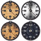 Set of Grunge Clocks