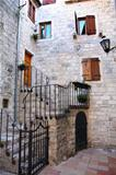 Backstreet in old town of Kotor, Montenegro
