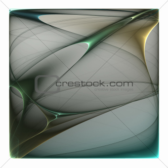 Abstract color image isolated on a white background. Design illu