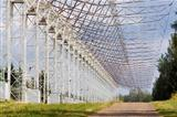 Radio telescope DKR-1000 in Russia