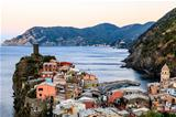 The Medieval Village of Vernazza in Cinque Terre, Italy