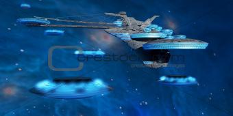 Blue Nebula Expanse