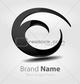 Brand black logo
