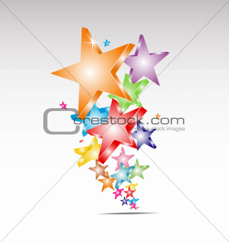 Candy stars logo business