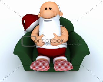 Santa having a day off