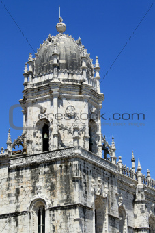 Jeronimos Monastery in  Lisbon,