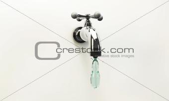 tap water drop