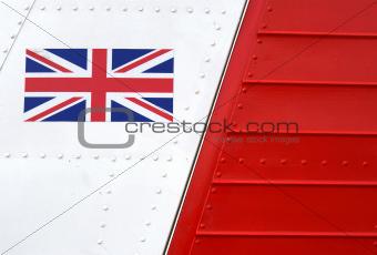 Airplane Union Jack emblem