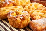 different sweet baking