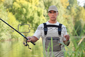 Freshwater fisherman
