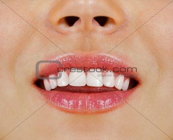 woman teeth