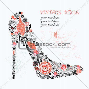 decorative shoe