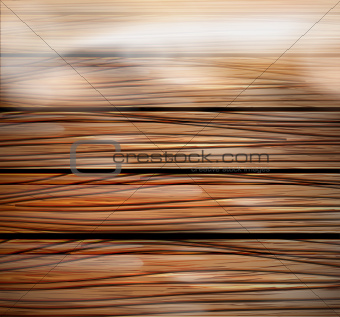 3d wooden close-up space background