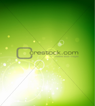 Abstract vector sunshine background