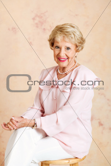 Portrait of Elegant Senior Lady