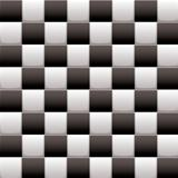 Checkered black n white