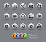 Communication Icons // Pearly Serie