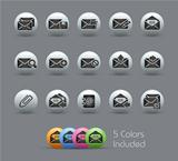 E-mail Icons // Pearly Serie