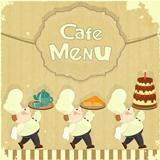 Cafe Menu Card
