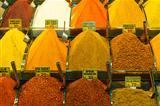 Spices at a market stall